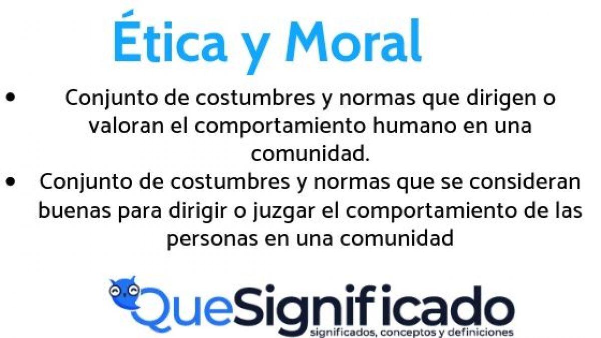 Diferencias Entre ética Y Moral Qué Son Origen Ejemplos